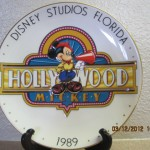 DisneyPlateMickeyHollywood